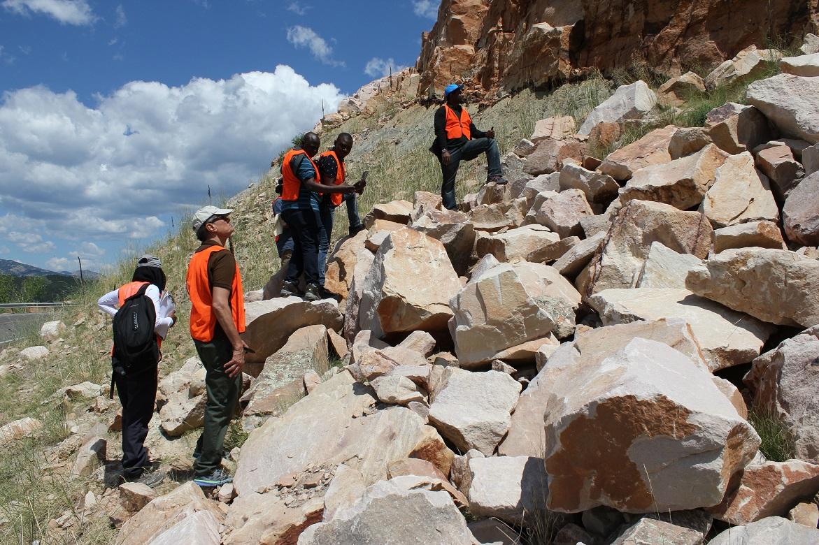 GTC Delegates on A Geoscience Field Trip in Denver, USA