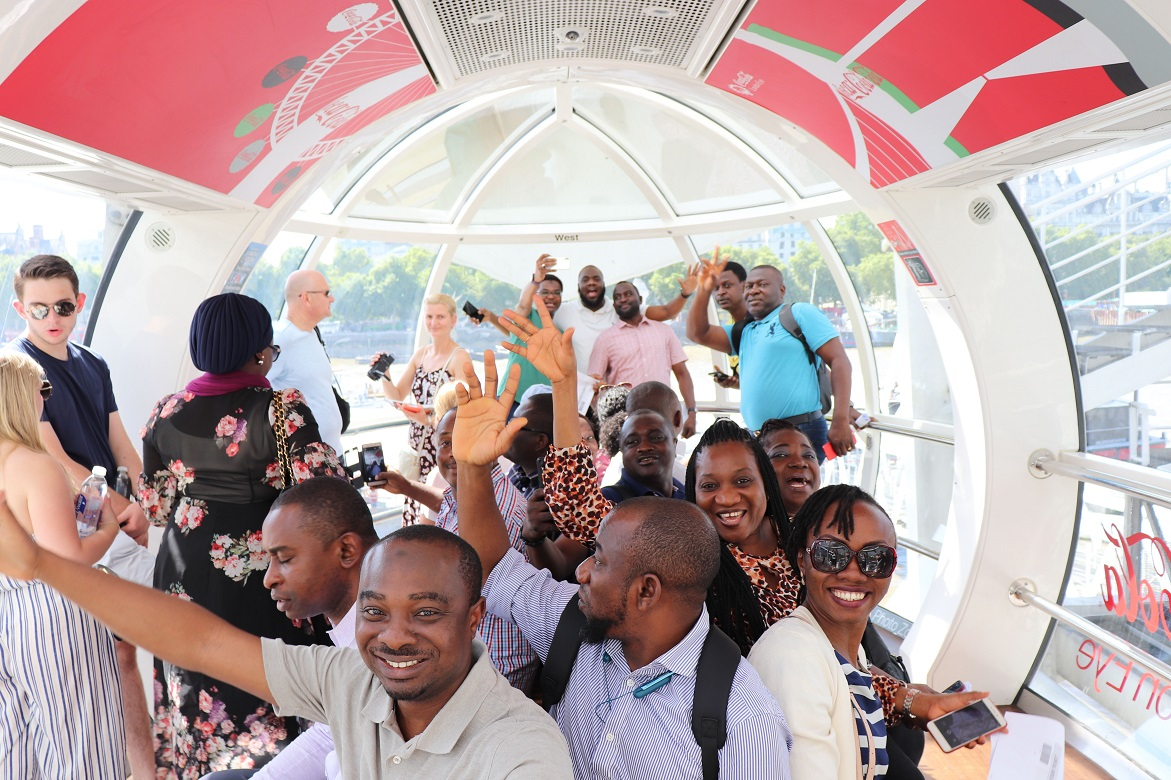 GTC Delegates Social Visit to The London Eye, UK