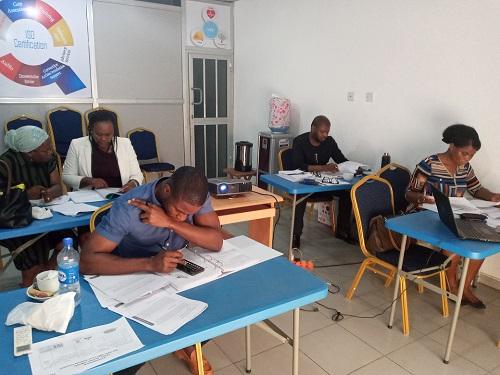 Delegates at Tenol Alpha Training